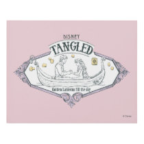 Rapunzel | Tangled Golden Lanterns Fill the Sky Panel Wall Art