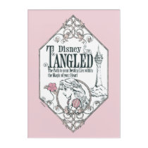 Rapunzel | Tangled - The Path to Your Destiny Acrylic Wall Art
