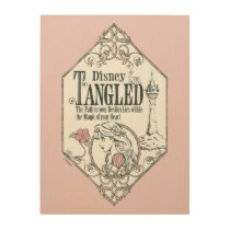Rapunzel | Tangled - The Path to Your Destiny Wood Wall Art