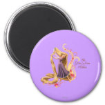 Rapunzel - The Glow's from Within 2 Inch Round Magnet