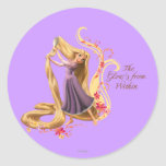 Rapunzel - The Glow's from Within Classic Round Sticker