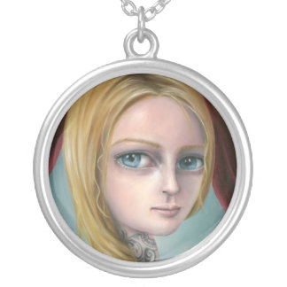 Rapunzel the Tattoo Girl Necklace