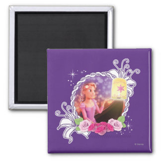 Rapunzel - There's Magic in the World 2 Inch Square Magnet