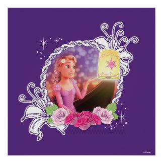 Rapunzel - There's Magic in the World Poster