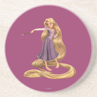 Rapunzel with Paintbrush 2 Drink Coasters
