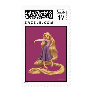 Rapunzel with Paintbrush 2 Stamp