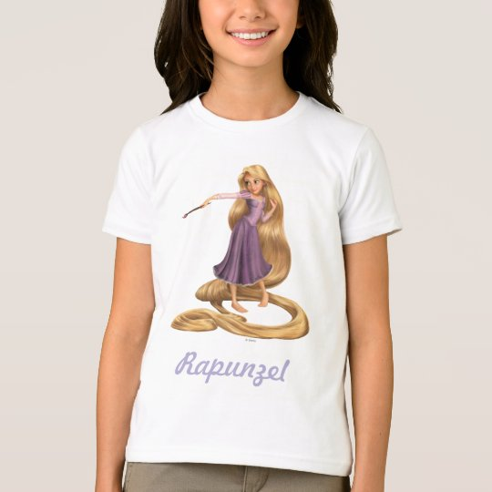 Rapunzel with Paintbrush 2 T-Shirt
