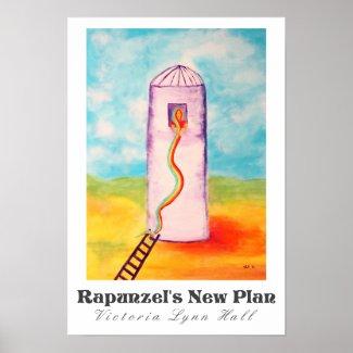 Rapunzel's New Plan Art By Victoria Lynn Hall
