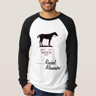 Raquel Alexandra gana el caballo de la camiseta Poleras