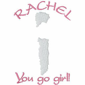 ¡Raquel Alexandra usted va chica! Camiseta bordada
