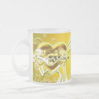 Raquel Frosted Glass Coffee Mug