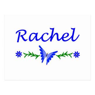 Raquel (mariposa azul) tarjetas postales