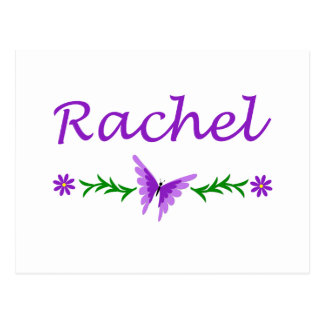 Raquel (mariposa púrpura) postales
