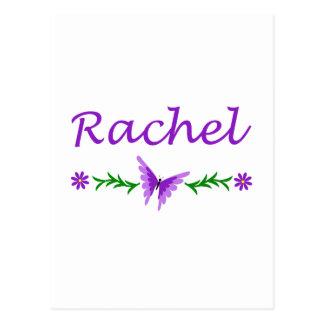 Raquel (mariposa púrpura) tarjeta postal