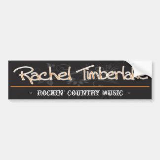 Raquel Timberlake - pegatina para el parachoques Pegatina Para Auto
