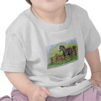 Raquel y potro de Curlin Camisetas