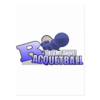 Raquetball My Sport! Postcards