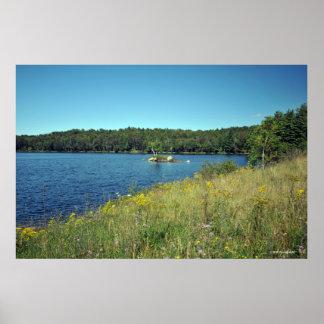 Raquette Lake in the Adirondacks. print 08 232