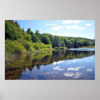 Raquette Lake in the Adirondacks. print 08 304