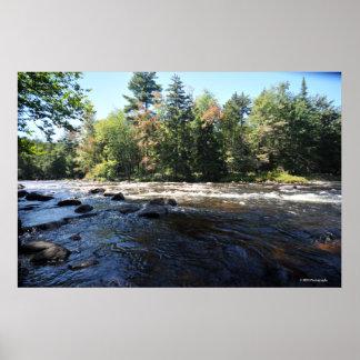 Raquette river in the Adirondack. print 08 258
