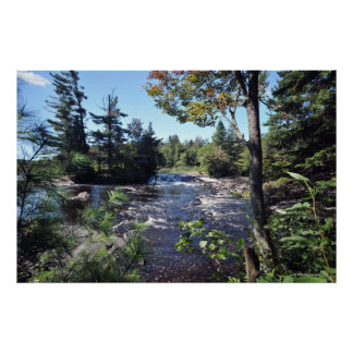 Raquette River in the Adirondacks print 08 200
