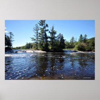 Raquette River in the Adirondacks. print 08 209