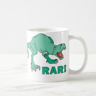 ¡Rar de Rex del Tyrannosaurus! Tazas De Café