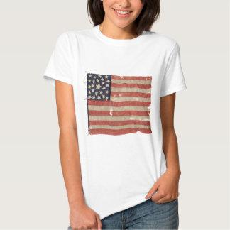 Rare 1850-1865 Period 25 Star U.S. Flag. T-Shirt
