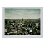 Rare 1903 San Francisco from Nob Hill photo Postcards