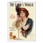 "RARE 1913 ""MAGAZINE MINIS"" COVER ART CARD"