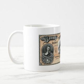 RARE BAMKNOTE Argentina un peso Classic White Coffee Mug