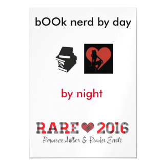 RARE book lover Magnetic Card