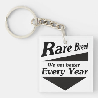 Rare Breed Keychain