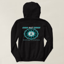 Rare but there! small/large cervical cancer teal 2 hoodie