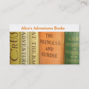 Bookseller business cards templates zazzle rare childrens bookseller business card reheart Gallery