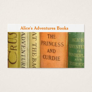 Rare Children's Bookseller Business Card