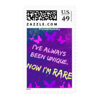Rare Disease Day postage stamps