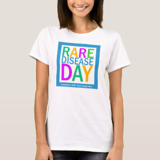 Rare Disease Day tshirt (customization available)