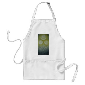 rare earth moons adult apron