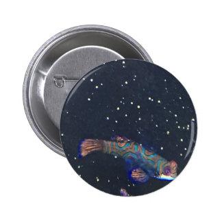 Rare Exotic Fish Pinback Button