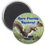 Rare Florida Squirrel Fridge Magnet