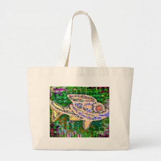 Rare Golden Fish - Fantasy Imaginations Bags