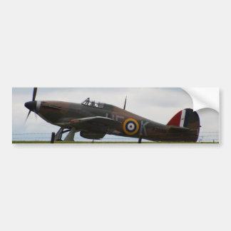 Rare Hawker Hurricane Bumper Sticker