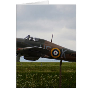 Rare Hawker Hurricane Card