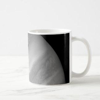 Rare Image of Jupiter and Its Moon Coffee Mugs