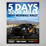 Rare JDM, 2010 Modball Rally Posters
