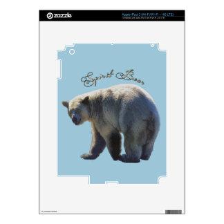 Rare Kermode Bear (Spirit Bear) Wildlife Design Decal For iPad 3
