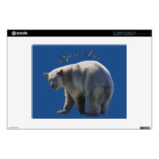 Rare Kermode Bear (Spirit Bear) Wildlife Design Laptop Skins