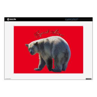 Rare Kermode Bear (Spirit Bear) Wildlife Design Skins For Laptops