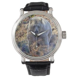 Rare Kermode Bear (Spirit Bear) Wildlife Photo Wristwatch